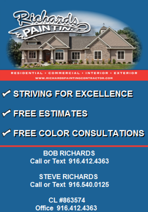 Richards Painting Contractor | Residential and Commercial Painter Painter Granite Bay CA | Residential Painter Contractor Granite Bay CA | Commercial Painter Granite Bay CA | Interior Exterior Painter Granite Bay CA